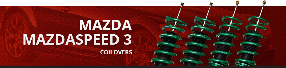 MAZDA MAZDASPEED3 COILOVERS