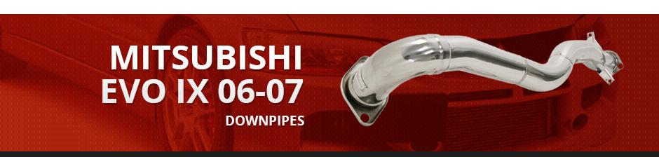 MITSUBISHI EVO IX 06-07 DOWNPIPES