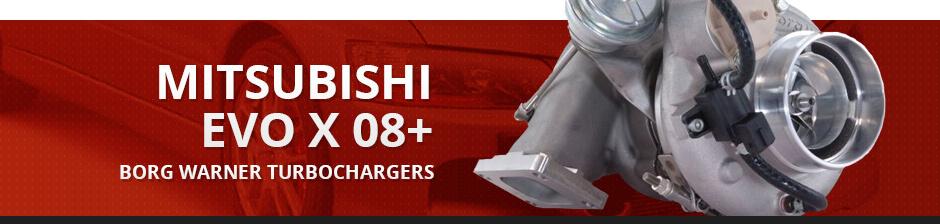 MITSUBISHI EVO X 08+ BORG WARNER TURBOCHARGERS