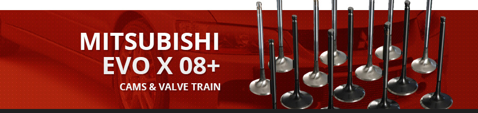 MITSUBISHI EVO X 08+ CAMS & VALVE TRAIN