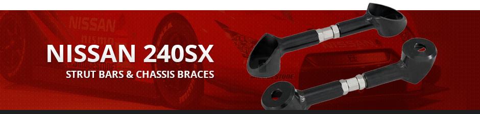NISSAN 240SX STRUT BARS & CHASSIS BRACES