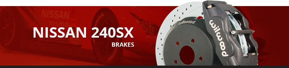 NISSAN 240SX BRAKES