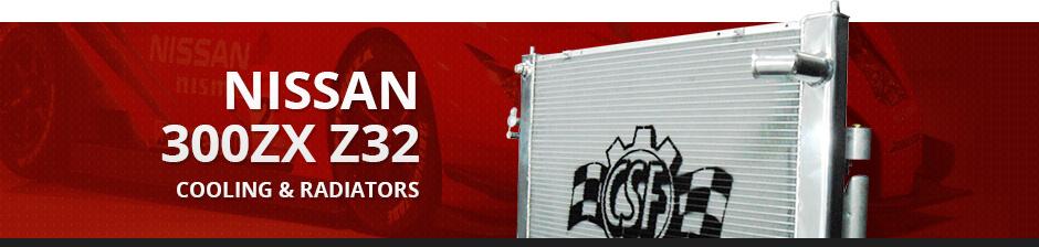 NISSAN 300ZX Z32 COOLING & RADIATORS