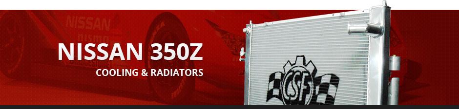 NISSAN 350Z COOLING & RADIATORS