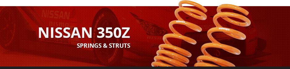 NISSAN 350Z SPRINGS & STRUTS