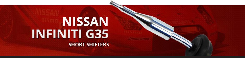 NISSAN INFINITI G35 SHORT SHIFTER