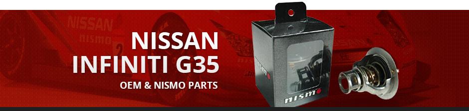 NISSAN INFINITI G35 OEM & NISMO PARTS