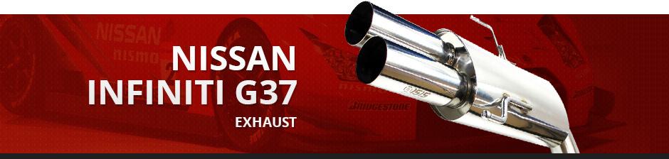 NISSAN INFINITI G37 EXHAUST