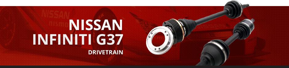 NISSAN INFINITI G37 DRIVETRAIN
