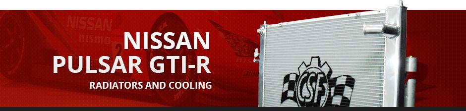 NISSAN PULSAR GTI-R RADIATORS & COOLING