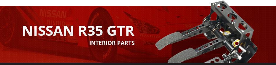 NISSAN R35 GTR INTERIOR PARTS