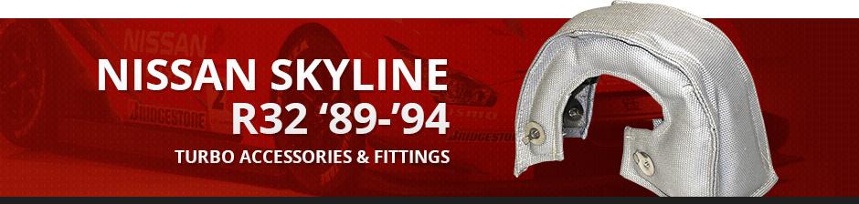 NISSAN SKYLINE R32 '89-'94 TURBO ACCESSORIES & FITTINGS