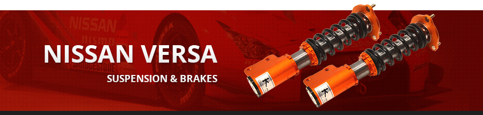 NISSAN VERSA SUSPENSION & BRAKES