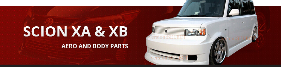 SCION XA & XB AERO AND BODY PARTS