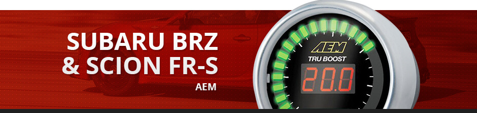 SUBARU BRZ & SCION FR-S AEM