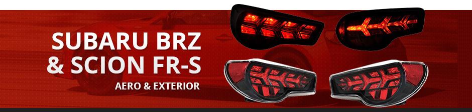 SUBARU BRZ & SCION FR-S AERO & EXTERIOR