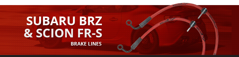 SUBARU BRZ & SCION FR-S BRAKE LINES