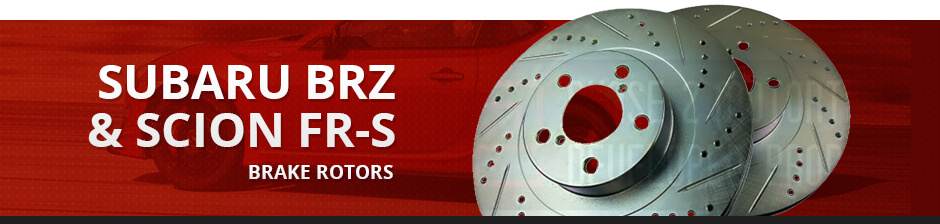 SUBARU BRZ & SCION FR-S BRAKE ROTORS