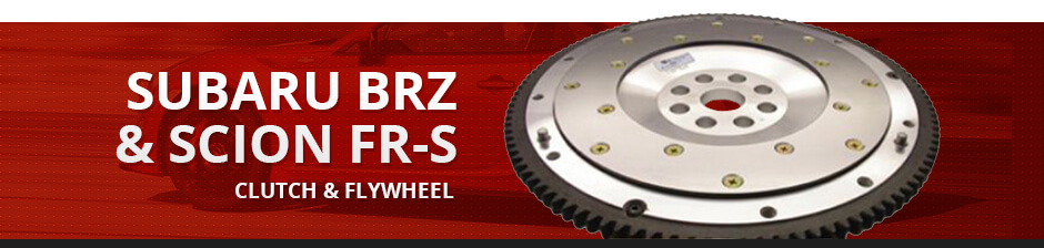 SUBARU BRZ & SCION FR-S CLUTCH & FLYWHEEL