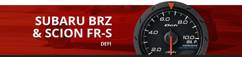 SUBARU BRZ & SCION FR-S DEFI