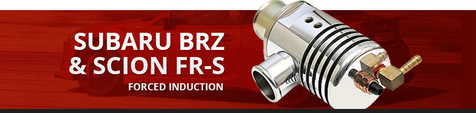 SUBARU BRZ & SCION FR-S FORCED INDUCTION