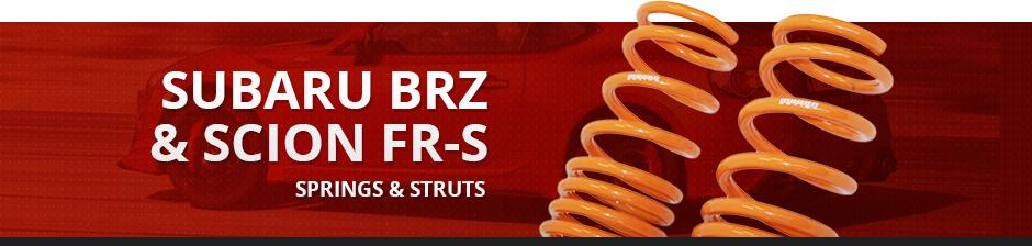 SUBARU BRZ & SCION FR-S SPRINGS & STRUTS