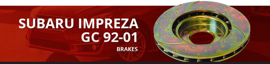 SUBARU IMPREZA GC 92-01 BRAKES