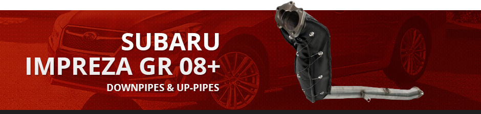 SUBARU IMPREZA GR 08+ DOWNPIPES & UP-PIPES