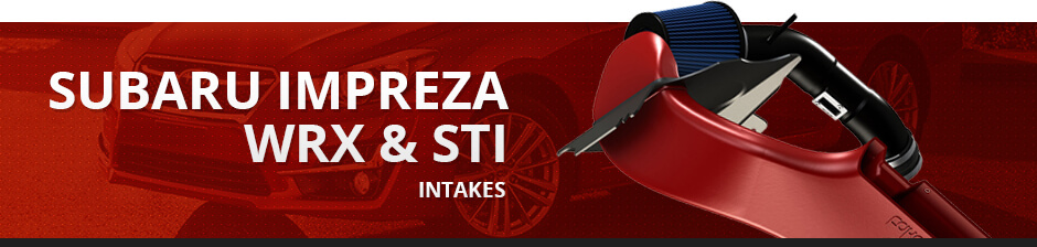 SUBARU IMPREZA WRX & STI INTAKES