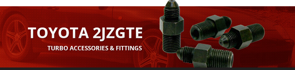 TOYOTA 2JZGTE TURBO ACCESSORIES & FITTINGS