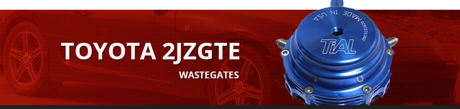 TOYOTA 2JZGTE WASTEGATES