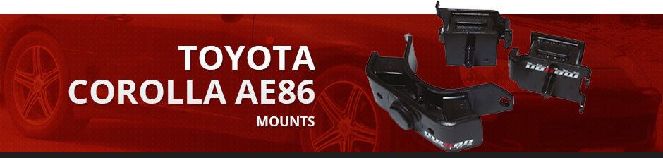 TOYOTA COROLLA AE86 MOUNTS