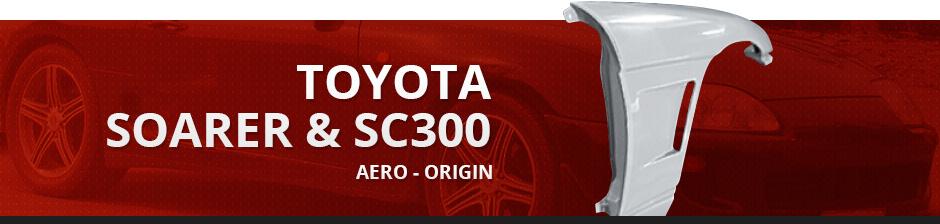 TOYOTA SOARER & SC300 AERO ORIGIN