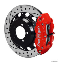 Forged Narrow Superlite Rear Brake Kit for Subaru Impreza