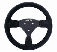 Sparco 015P270LN 270 LN Competition Black Leather Steering Wheel 270mm