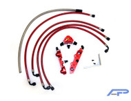Agency Power High Flow Fuel Rail Subaru STI 04+