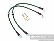 Enthuspec Front Brake Lines for Nissan 240sx 89-98