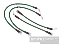 Enthuspec Z32/300zx Front & Rear Brake Line Kit Combo for Nissan 240sx '89-'98