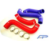 Agency Power Subaru WRX/STI Radiator Hose Kit - Red
