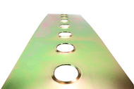 ISR  Performance Universal Steel Gusset Dimple Plates - 42mm Holes