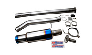 Tomei - Expreme Ti Titanium Muffler For Hyundai Genesis Coupe 200 Turbo