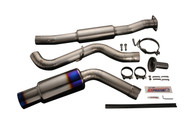 Tomei - Expreme Ti Titanium Muffler For Gvf Wrx Sti 2011+/Wrx 2008+ (4 Door Sedan) Usdm
