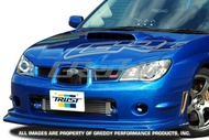 GREDDY FRONT LIP SPOILER - IMPREZA WRX/STI 06-07