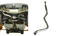 HKS [Subaru Impreza(2008)] HKS Legamax Exhaust SUS304 Center Pipe ONLY/; For Use w/ 31021-AF012 And Stock Muffler