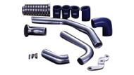 HKS I/C PIPE KIT (R35) GT-R; Polished Aluminum (2 Inlet / 4 Outlet) (2009-2010)
