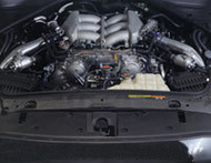 HKS GT570 > GT600 Upgrade Kit / Fuel pump x2, fuel pressure regulator, Superior Finisher w/ emblem / NISSAN GT-R 2009-2010