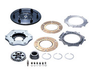 HKS Single Plate Clutch Kit that includes Clutch Disc, Cover, Flywheel for up to 450ps - Lancer Evolution