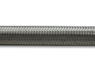 Vibrant Performance - 2ft Roll of Stainless Steel Braided Flex Hose; AN Size: -4; Hose ID 0.22""