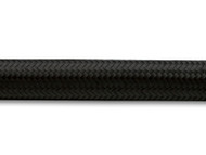 Vibrant Performance - 2ft Roll of Black Nylon Braided Flex Hose; AN Size: -8; Hose ID: 0.44""