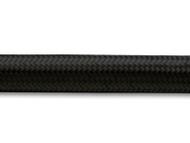 "Vibrant Performance - 20ft Roll of Black Nylon Braided Flex Hose; AN Size: -6; Hose ID: 0.34"";"